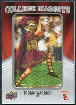 2012 Upper Deck College Mascot Manufactured Patch #CM53 Trojan Warrior A