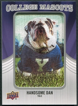 2012 Upper Deck College Mascot Manufactured Patch #CM60 Handsome Dan A