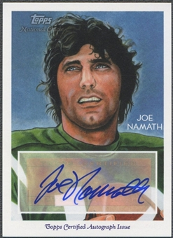 2009 Topps National Chicle #NCAJN Joe Namath Auto