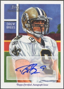 2009 Topps National Chicle #NCAACB Drew Brees Auto