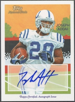 2009 Topps National Chicle #NCAJA Joseph Addai Auto