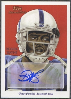 2009 Topps National Chicle #NCARW Reggie Wayne Auto