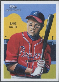 2010 Topps National Chicle #276 Babe Ruth Umbrella Red Back #1/1