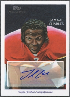 2009 Topps National Chicle #NCAJCH Jamaal Charles Auto