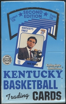 1989/90 Collegiate Collection Kentucky Basketball Second Edition Hobby Box