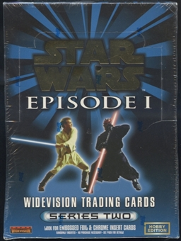 Star Wars Episode 1 Series 2 Hobby Box (1999 Topps)
