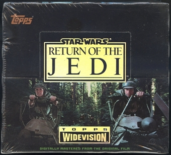 Star Wars Return of the Jedi Hobby Box (1995 Topps)