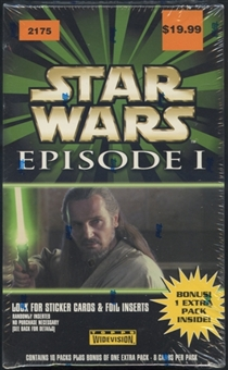 Star Wars Episode 1 Blaster Box (1999 Topps)