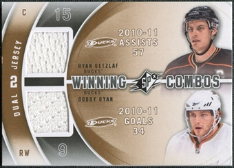 2011/12 Upper Deck SPx Winning Combos #WCGR Ryan Getzlaf Bobby Ryan E