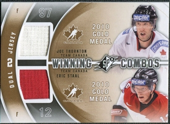 2011/12 Upper Deck SPx Winning Combos #WCTS Joe Thornton Eric Staal D