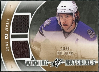 2011/12 Upper Deck SPx Winning Materials #WMAK Anze Kopitar E