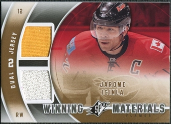 2011/12 Upper Deck SPx Winning Materials #WMJI Jarome Iginla E