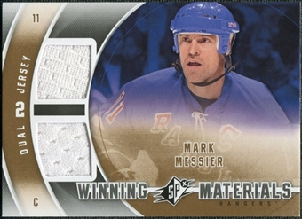 2011/12 Upper Deck SPx Winning Materials #WMMM Mark Messier B