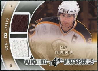 2011/12 Upper Deck SPx Winning Materials #WMRB Ray Bourque E