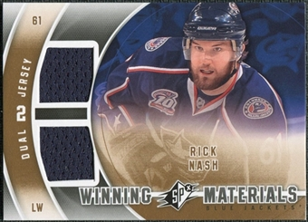 2011/12 Upper Deck SPx Winning Materials #WMRN Rick Nash E