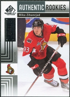 2011/12 Upper Deck SP Game Used #193 Mika Zibanejad RC /99