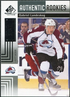 2011/12 Upper Deck SP Game Used #199 Gabriel Landeskog RC /99