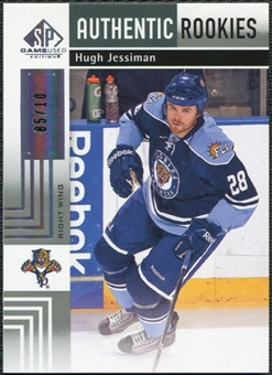 2011/12 Upper Deck SP Game Used Silver Spectrum #146 Hugh Jessiman RC /10