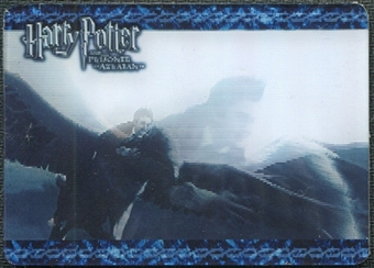 2004 Artbox Harry Potter and the Prisoner of Azkaban Update Case Loaders #1 Harry with Buckbeak