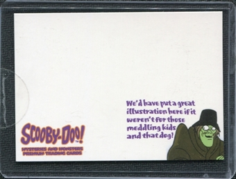 2003 InkWorks Scooby Doo Mysteries And Monsters Box Loaders #CL1 We'd Have Put a Great Illustration