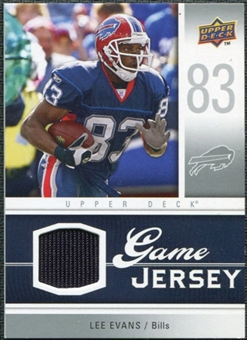 2009 Upper Deck Game Jersey #GJLE Lee Evans