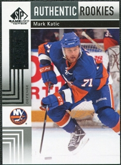 2011/12 Upper Deck SP Game Used #102 Mark Katic /699
