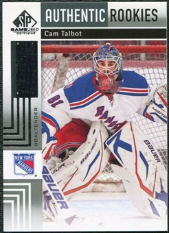 2011/12 Upper Deck SP Game Used #103 Cam Talbot RC /699