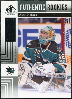 2011/12 Upper Deck SP Game Used #107 Alex Stalock RC /699