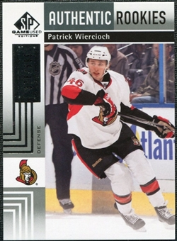 2011/12 Upper Deck SP Game Used #108 Patrick Wiercioch RC /699