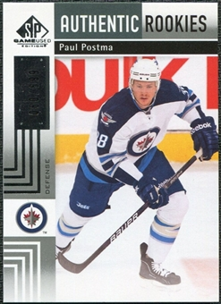 2011/12 Upper Deck SP Game Used #110 Paul Postma RC /699