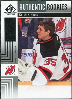 2011/12 Upper Deck SP Game Used #118 Keith Kinkaid RC /699