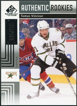 2011/12 Upper Deck SP Game Used #125 Tomas Vincour /699