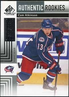 2011/12 Upper Deck SP Game Used #126 Cam Atkinson RC /699