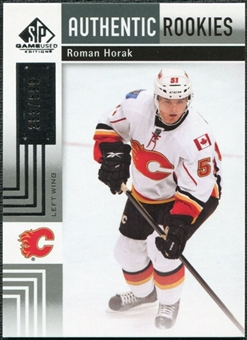 2011/12 Upper Deck SP Game Used #128 Roman Horak RC /699