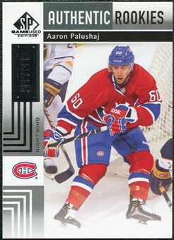 2011/12 Upper Deck SP Game Used #133 Aaron Palushaj RC /699