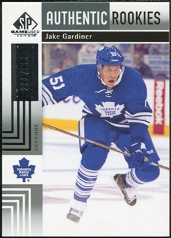 2011/12 Upper Deck SP Game Used #135 Jake Gardiner RC /699