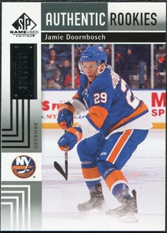 2011/12 Upper Deck SP Game Used #148 Jamie Doornbosch RC /699