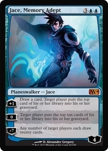 Magic the Gathering 2014 Single Jace, Memory Adept Foil