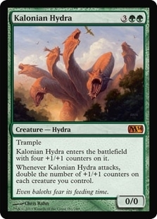 Magic the Gathering 2014 Single Kalonian Hydra - NEAR MINT (NM)