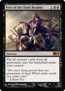 Magic the Gathering 2014 Single Rise of the Dark Realms - NEAR MINT (NM)