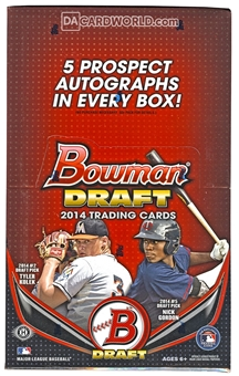 2014 Bowman Draft Picks & Prospects Baseball SUPER Jumbo Box