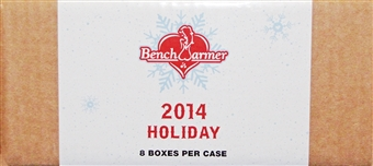 2014 BenchWarmer Holiday Hobby 8-Box Case