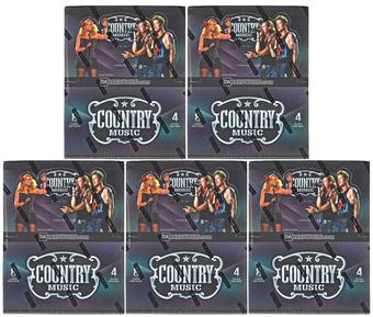 2014 Panini Country Music Hobby Box (Lot of 5)