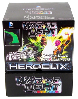 DC HeroClix: War of Light Construct 24-Pack Booster Box