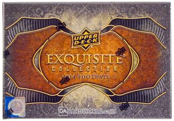 2014 Upper Deck Exquisite Football Hobby Box