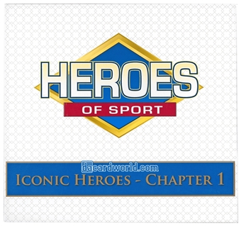 2014 Heroes of Sport: Iconic Heroes Chapter 1 Hobby Box
