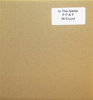 2014 In The Game Past, Present, & Future Baseball Hobby 10-Box Case