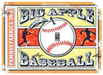 2014 Famous Fabrics Big Apple Baseball Hobby Box