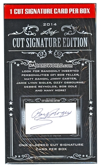 2014 Leaf Cut Signature Edition Box