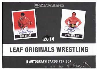 2014 Leaf Originals Wrestling Hobby Box